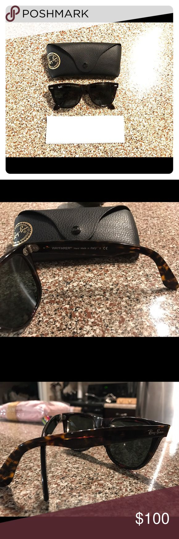 Ray-Ban Wayfarer sunglasses Like new condition Ray-Ban Accessories Glasses