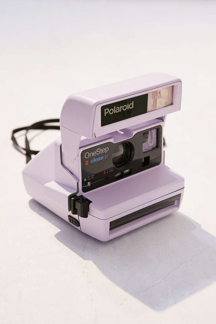 Impossible X UO Lavender Polaroid 600 Close-Up Instant Camera