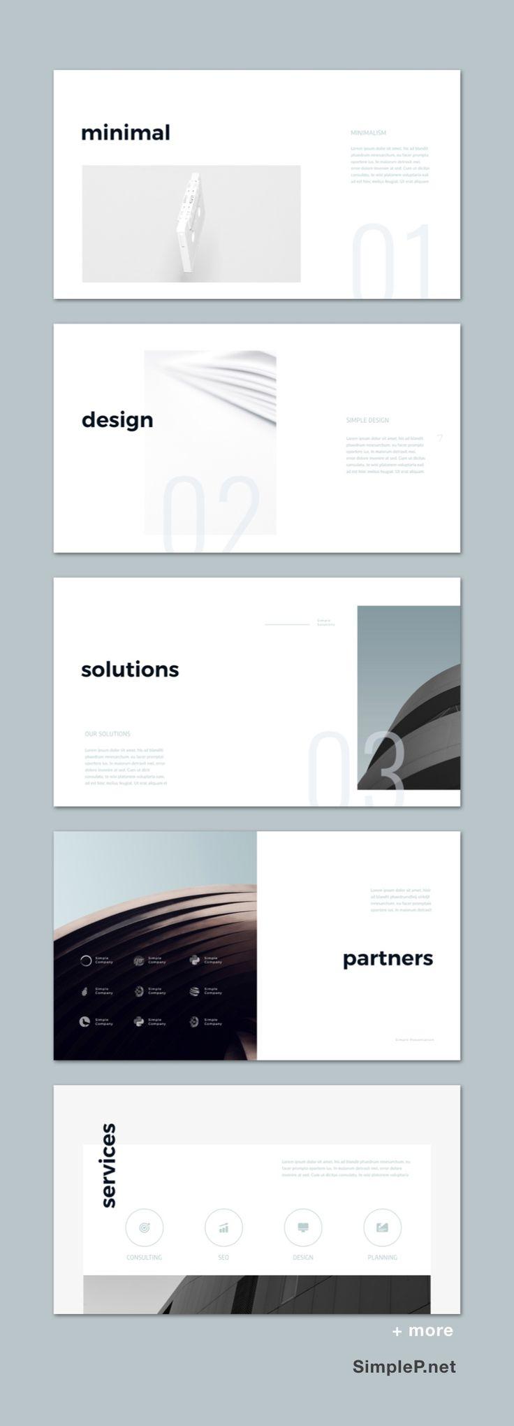 Simple Business Presentation Template #partners #s…