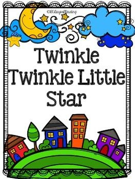 Lots of activities to go with the Nursery Rhyme Twinkle, Twinkle, Little Star. Great for those first days of school before you get into your Reading Program.  Activities for Short Vowels, Letter Recognition, First Sounds and Ending Sounds, Segmenting, Blending, Sequencing, Comprehension, Fluency, and Writing are included.