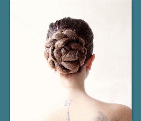 bridal wedding hairpie...