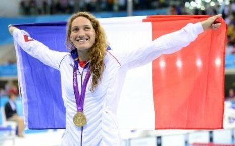 JO 2012   Camille Muffat championne olympique du 400m nage libre des JO de Londres, 8 ans après Manaudou