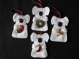 australian felt christmas decorations patterns - Google Search