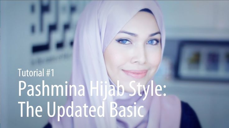 [Adlina Anis] Hijab Tutorial 1 | Pashmina Styles: The Updated Basic