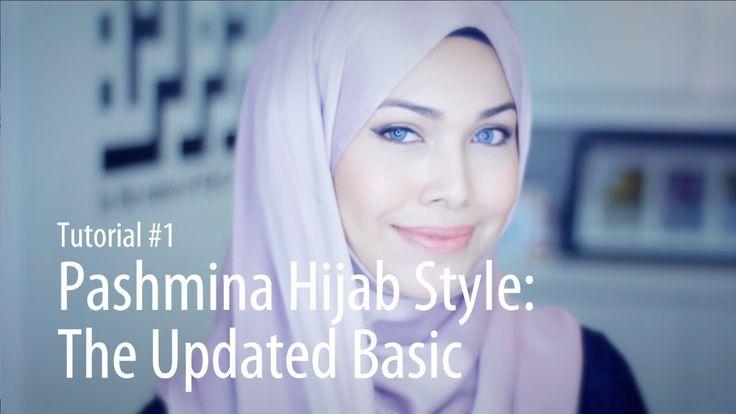 [Adlina Anis] Hijab Tutorial 1 | Pashmina Styles: The Updated Basic
