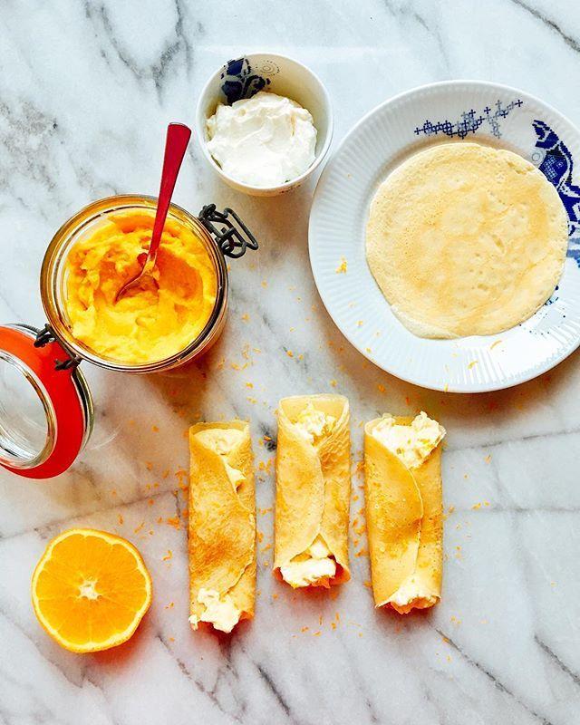 Bien sûr! Zum Tag des Crêpes gibt's unsere mit Armagnac und einer Orangen-Ricotta-Füllung 👉🏻Link zum Rezept im Profil