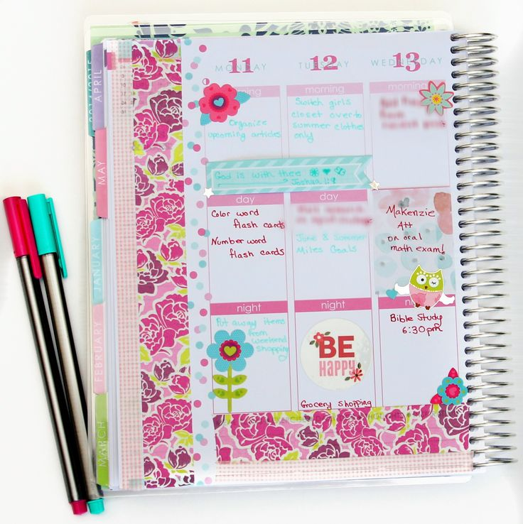 17 Best Images About Paper Planner Play On Pinterest