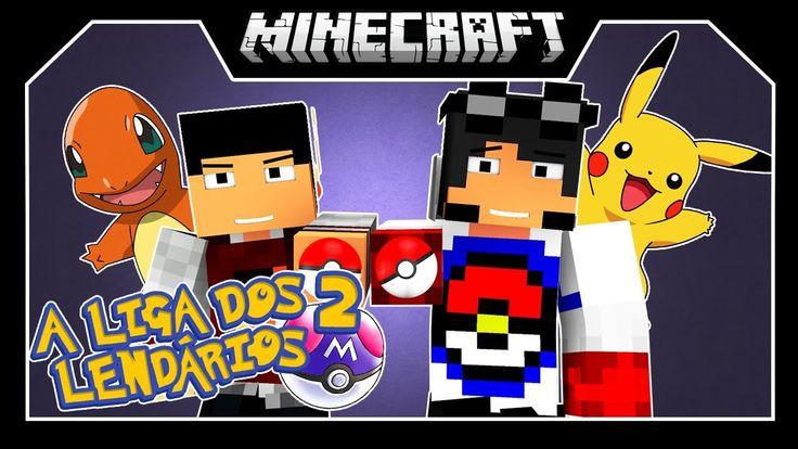 A Liga dos Lendários 2 - Mundo Desafiador!! (1) ‹ Minecraft ›