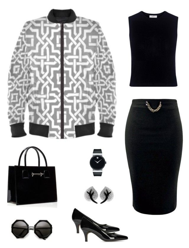"""""""The moroccan"""" jacket ootd by guutanii on Polyvore featuring polyvore, fashion, style, A.L.C., Clarks, Movado, Chanel and clothing"""