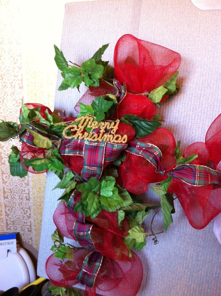 Crafting Holiday Wreaths