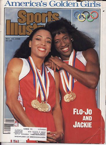 Olympic Track Champions Florence Griffith Joyner and Jackie Joyner Kersee
