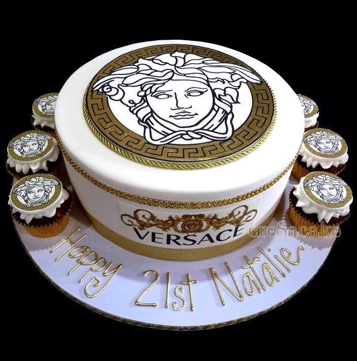 Versace Birthday Cake My Cakes Pinterest Birthday