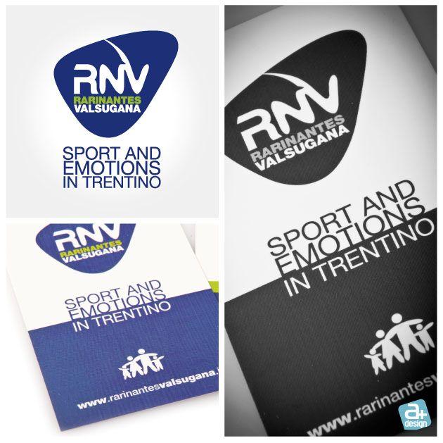 Realizzazione del logotipo e biglietti da visita per Rari Nantes Valsugana del Centro Polivalente Sportivo di Levico Terme