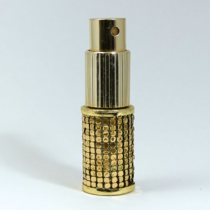Glomesh Perfume Bottle Atomiser from 1970s by SuesUpcyclednVintage on Etsy