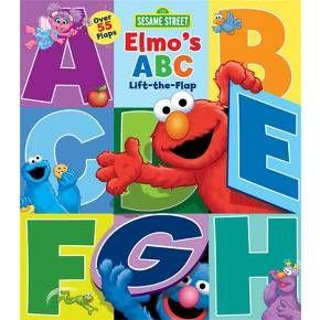 Sesame Street Elmo's ABC: Lift-the-Flap by Sesame Street (Board Book)
