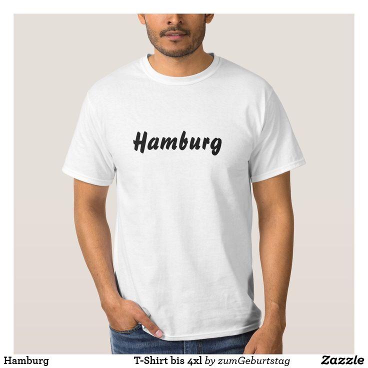 Hamburg T-Shirt bis 4xl