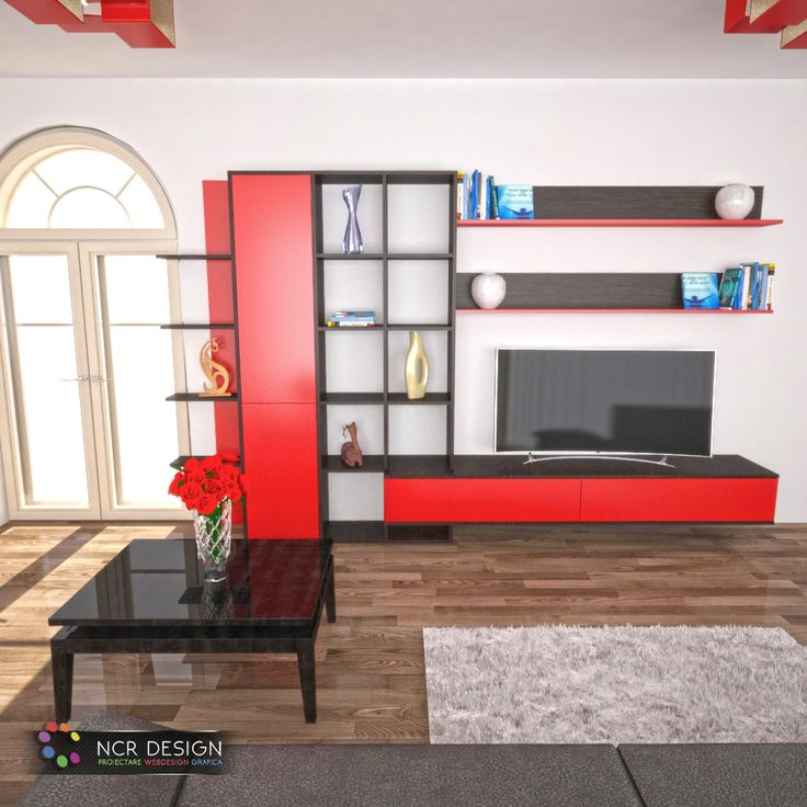"Interior design for the ""Romeo"" living by placing it in an interior space with decorative objects and colors. #design #decor #interiors #livingfurniture #palfurniture #wengefurniture #redfurniture #redlivingfurniture #wengelivingfurniture #furnitureideas #homefurniture #interiorfurniture #livingdesign #vrayinterior #render #3dsmax #ncrdesign"