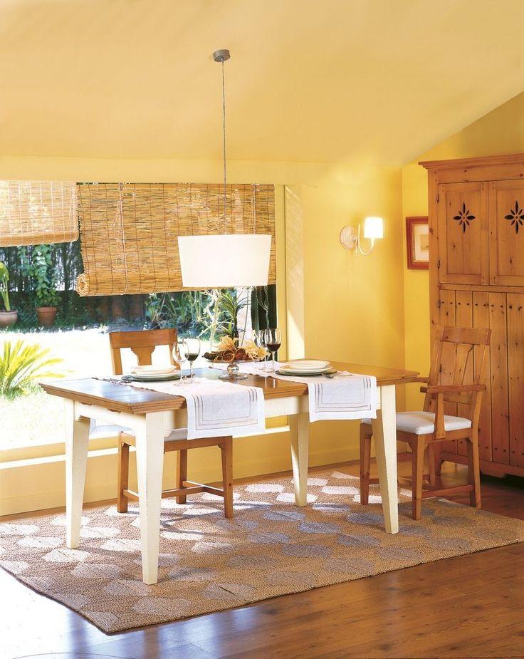 Mesa rectangular extensible tricias mesas r sticas mesas comedor ampliables decoraci n - Mesa comedor rustica extensible ...