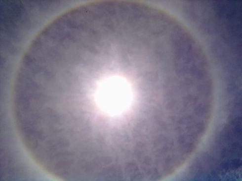 EDY HOME'S: Benarkah Kemunculan Lingkaran Pelangi di Jogja Per...