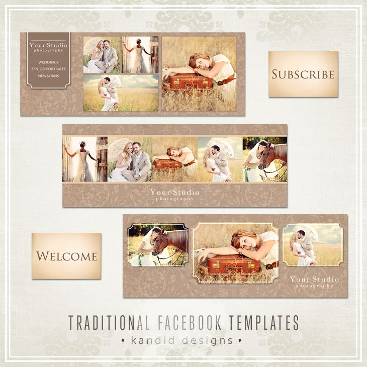 Traditional Facebook Timeline Templates