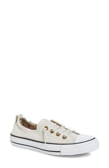 97db201e7a60 CONVERSE CHUCK TAYLOR ALL STAR SHORELINE PEACHED TWILL SNEAKER.  converse   shoes