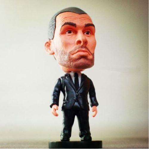 SalaToys realistic doll JOSEP-GUARDIOLA-COACH-FC-BARCELONA-BAYERN-MONACO-FC-action-figure-7cm