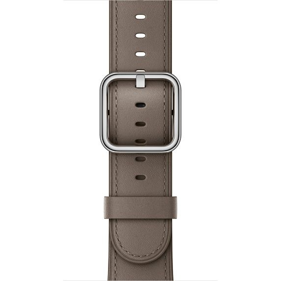 Customize the look and feel of your Apple Watch with a 42mm Taupe Classic Buckle band. Buy now with fast, free shipping.