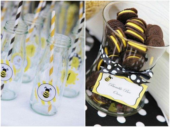 Beautiful Bumble Bee Birthday Party Sweet Customers