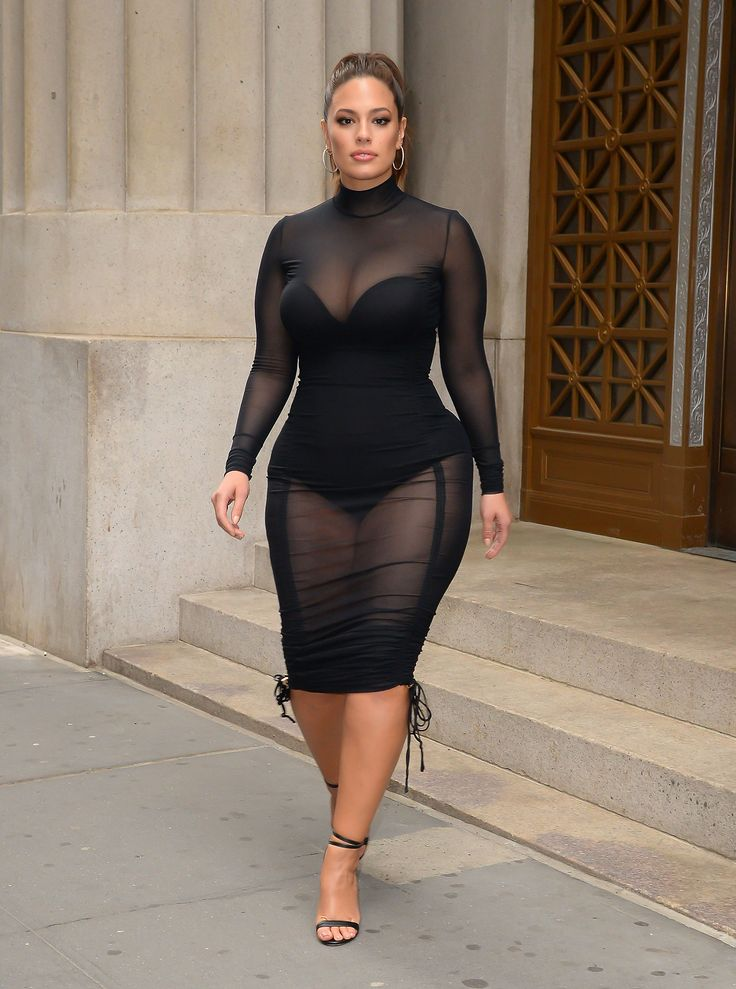 Ashley Graham Goes Sheer Headed To A New Jersey Book Signing Event
