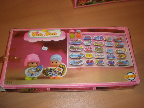 PIN Y PON 80'S DRESSES AND GAMES OUTFITS