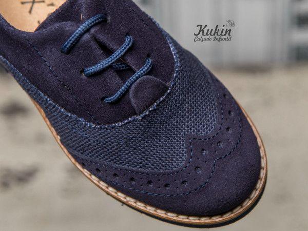 Zapatos azules infantiles CHOCabDp