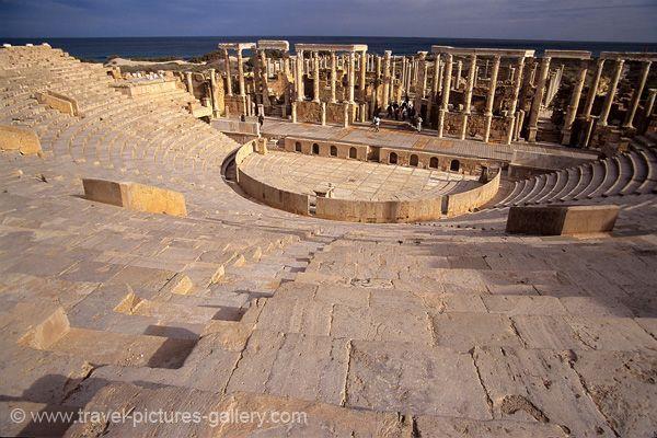 Leptis Magna, Roman Ruins