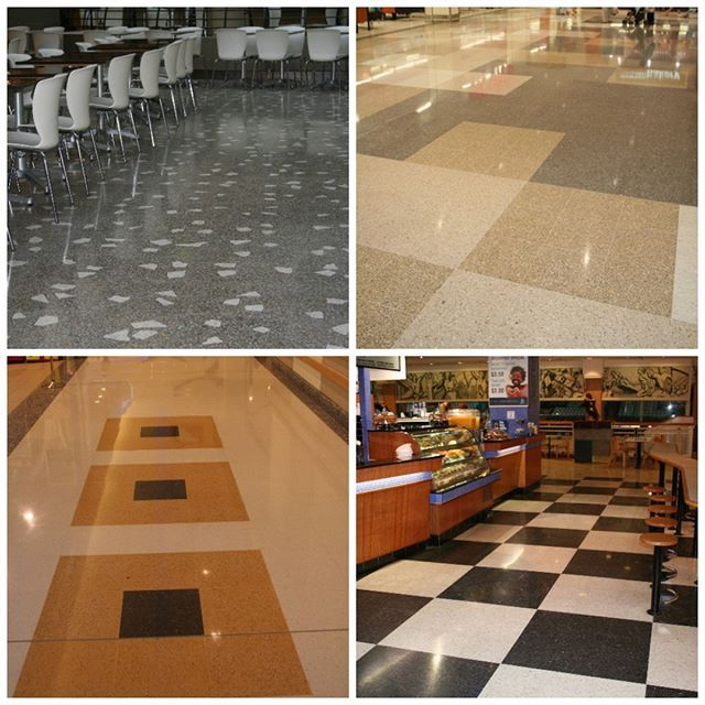 For commercial retail spaces the ideal flooring system to install is terrazzo tiles easy