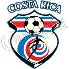 Costa Rica Soccer Pocket Patch