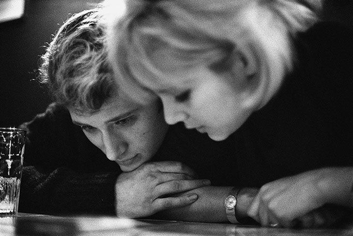 Jean-Marie Perier - Photographe - Johnny et Sylvie trasbourg 1963