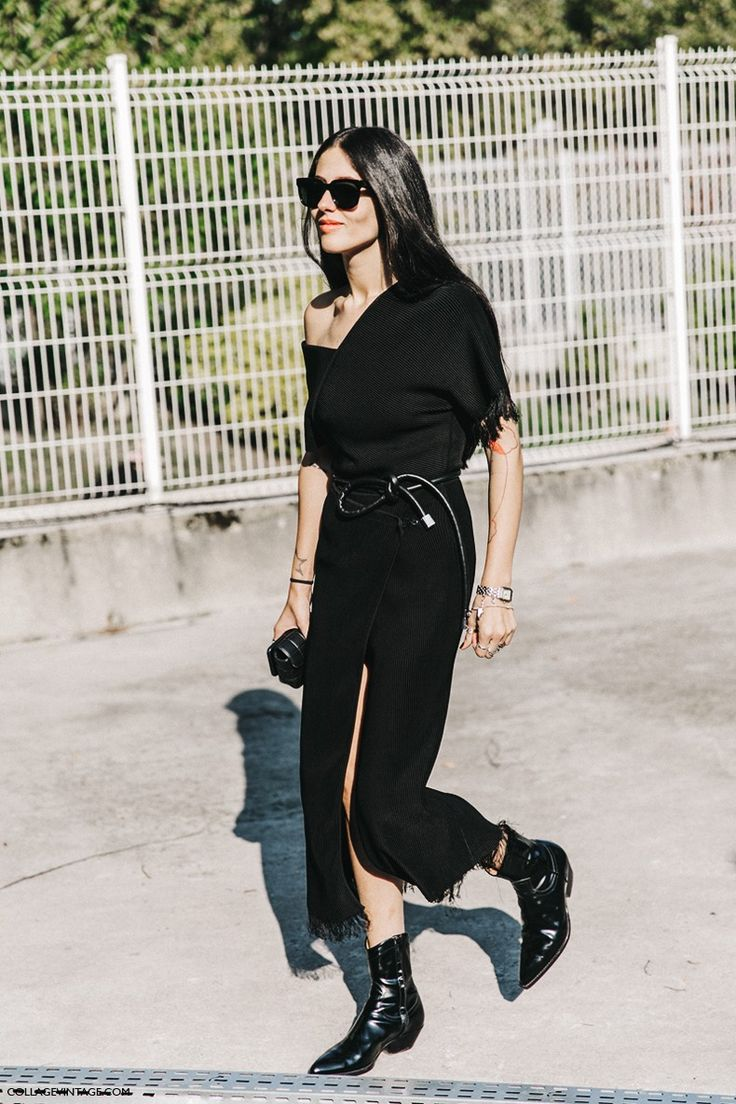PFW-Paris_Fashion_Week-Spring_Summer_2016-Street_Style-Say_Cheese-Total_Black-Gilda_Ambrosio-1