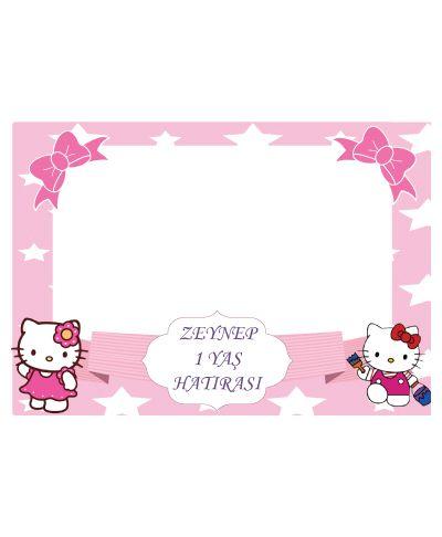 Doğum günü parti süslemeleri için Hello Kitty Hatıra Fotoğrafı Çerçevesi ürünümüzü online olarak uygun fiyatlar ile satın alabilirsiniz