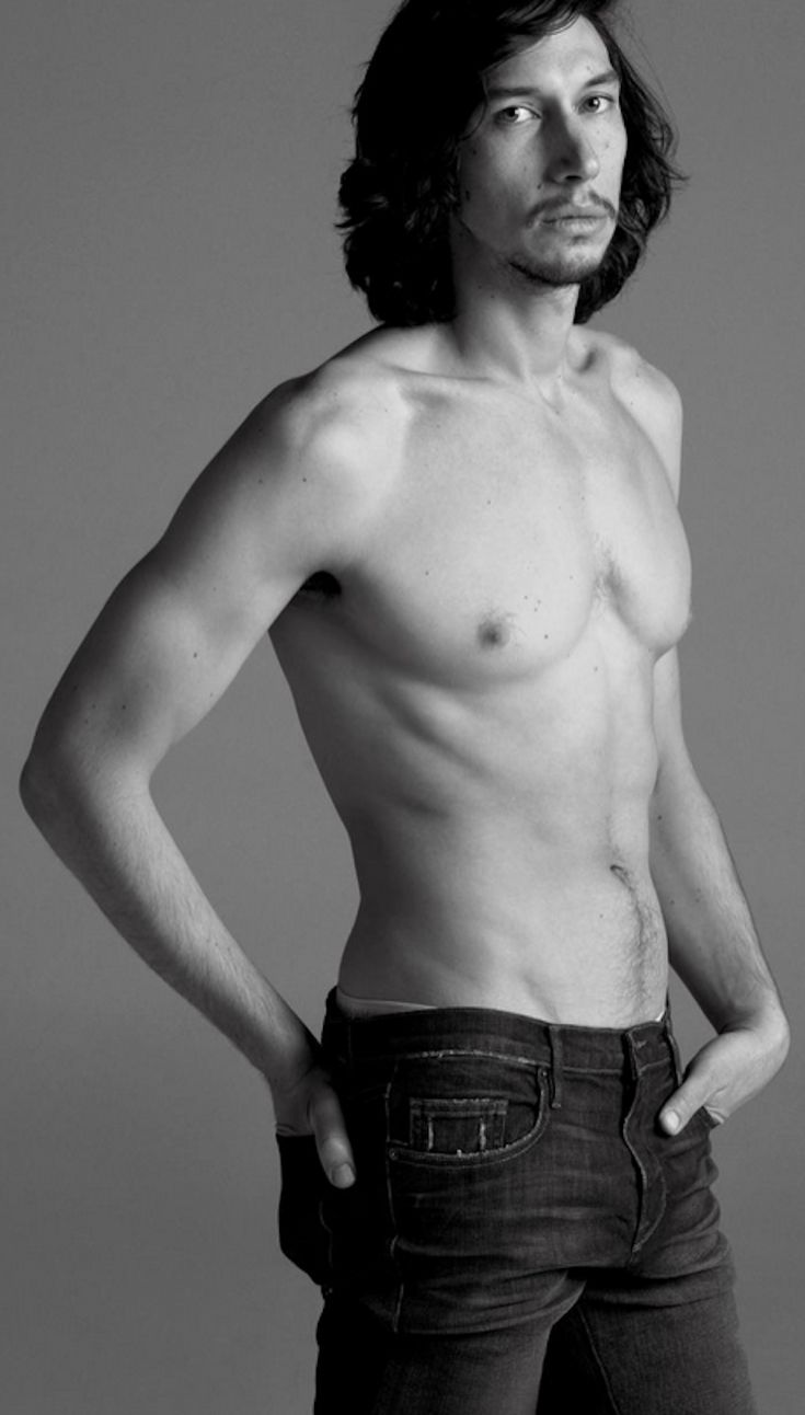 Adam Driver. Shameless. Sorry not sorry.