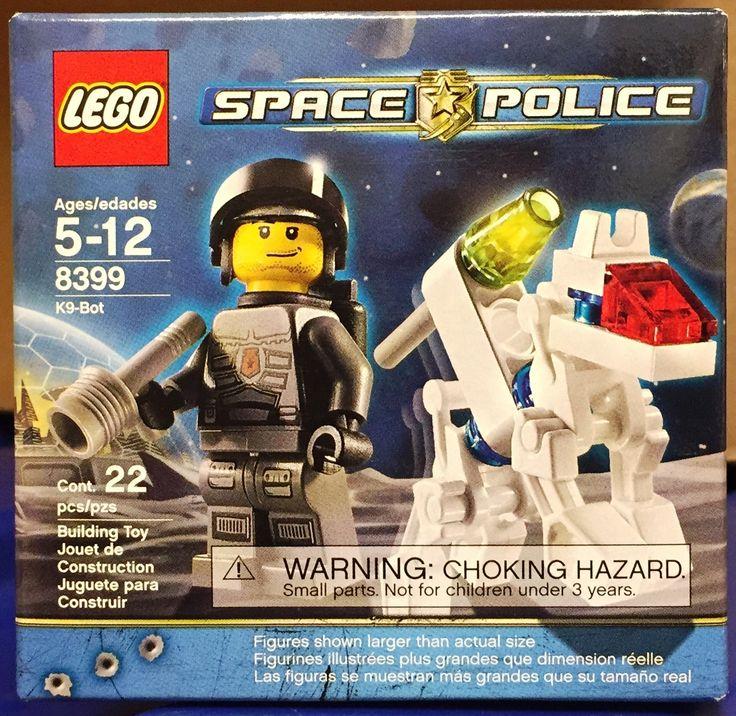 Lego Space Police K9 Bot Robot Dog + Police Officer BNIB - 2009 - Sets