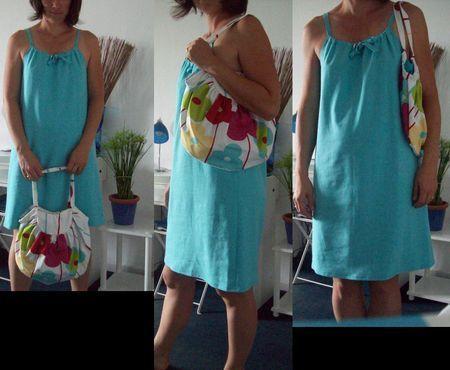 Tuto petite robe de plage