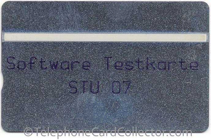 Landis & Gyr Software Testkarte STU 07