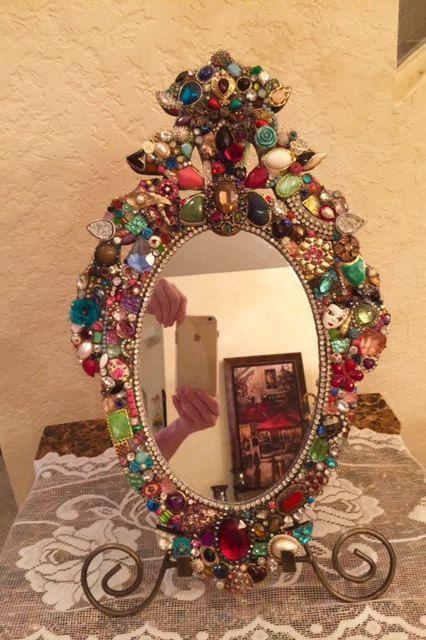 Boho Mirror Frame Diy