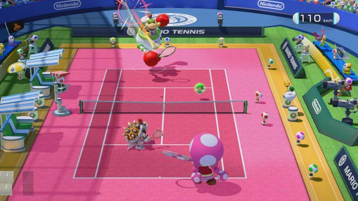 Världsexklusiv recension: MARIO TENNIS ULTRA SMASH till Wii U: http://www.senses.se/mario-tennis-ultra-smash-recension/