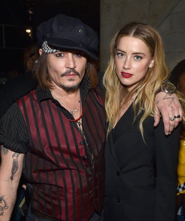 Pin for Later: 23 Couples Qui Ont Déjà Rompu en 2016 Johnny Depp et Amber Heard Après un peu plus d'un an de mariage, l'actrice a demandé le divorce fin Mai 2016.