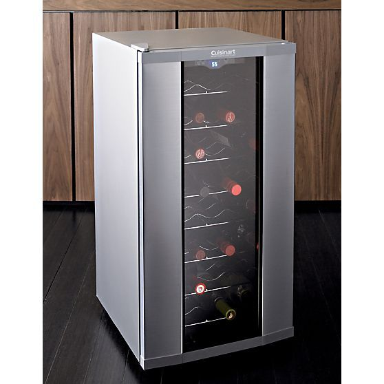 Cuisinart ® 32-Bottle Wine Cooler | Crate and Barrel