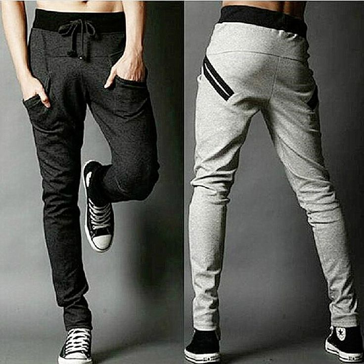Sarouel hommes New Style  mode Casual classique Slim Fit Skinny hommes de jogging pantalon de