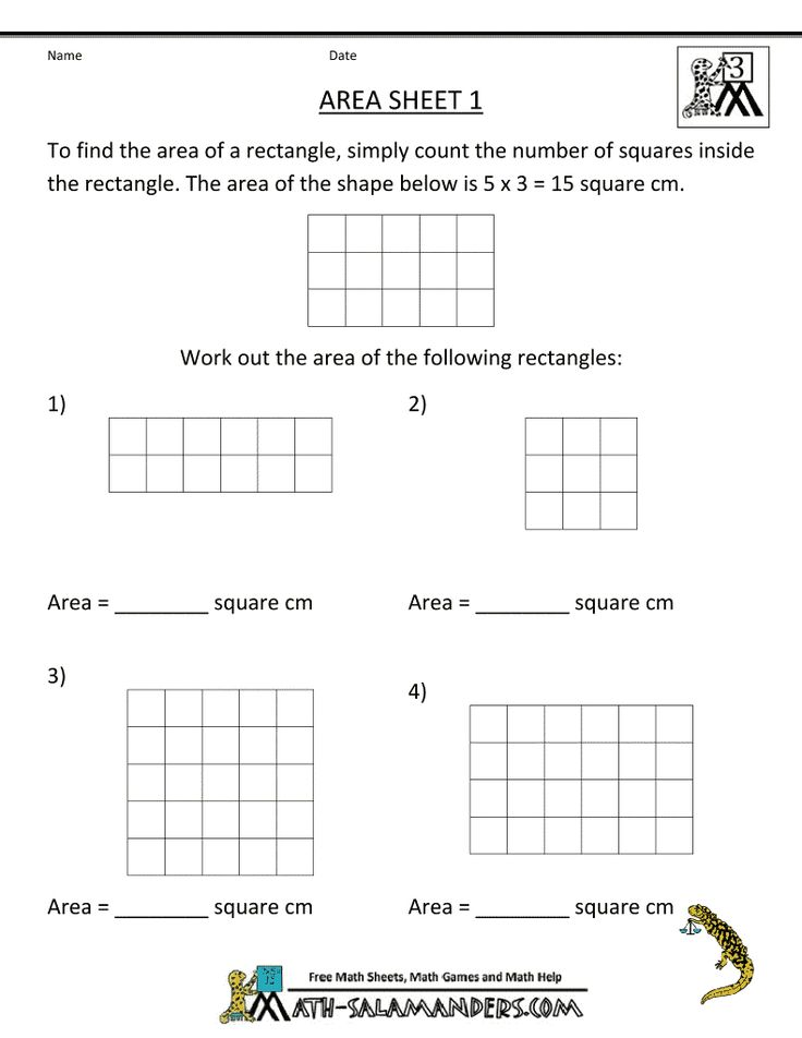 Best 25+ Area worksheets ideas on Pinterest | Teaching ...