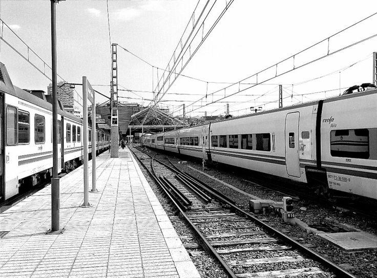 Trenes de cercanías.