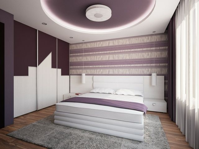 51 best images about deco chambre on pinterest grey for Plafond moderne