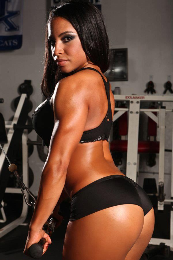 Women Sexy Build Strong Muscle 3